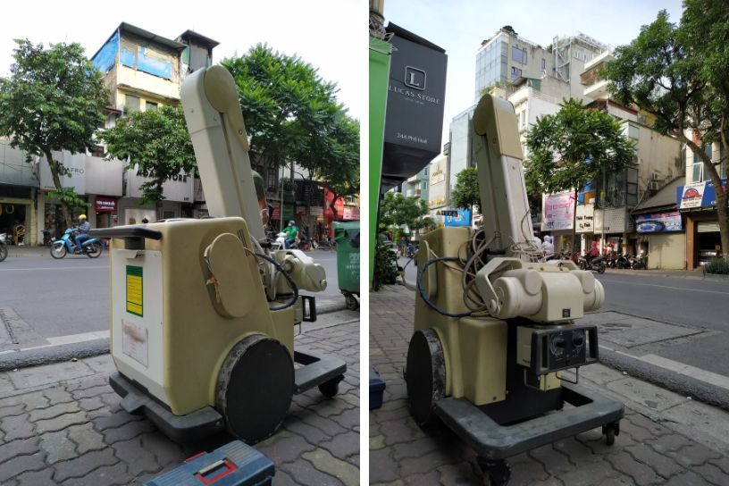 dịch vụ sửa chữa máy chụp X-Quang