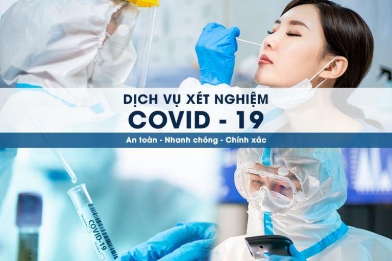 Dịch vụ xét nghiệm test nhanh Covid-19 ở Hà Nội